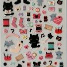 San-X Kutusita Nyanko Boots I Love Kutusita 2 Sticker Set