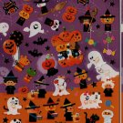 Kamio Wonderful Friends Happy Halloween Stickers with Golden Accents