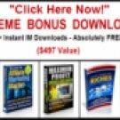 130+ Instant Internet Marketer e-tool Downloads!