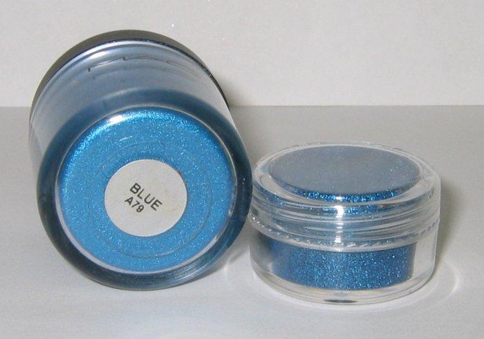 MAC - BLUE (ORIGINAL) 1/4 tsp Pigment Sample - HTF! RARE!