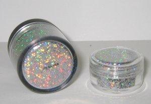 MAC - 3D Silver 1/4 tsp Glitter Brilliant Sample