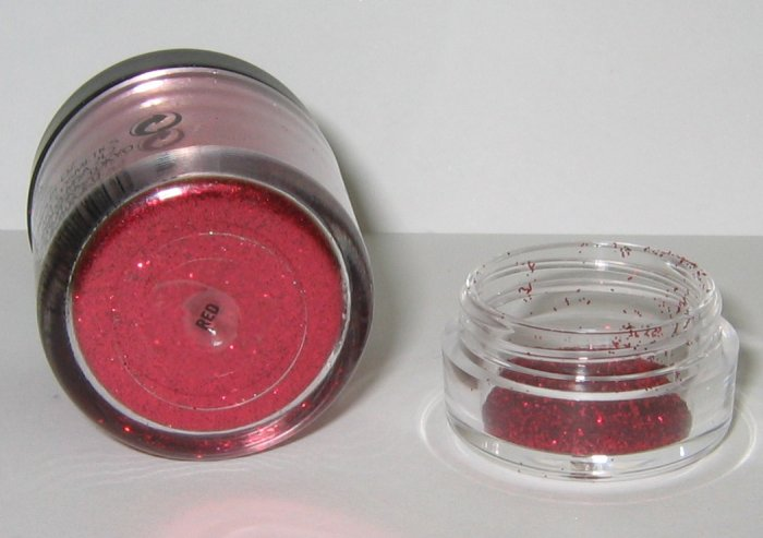 MAC - Red 1/4 tsp Glitter Brilliant Sample