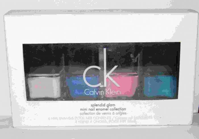Calvin Klein - Splendid Glam Mini Nail Enamel Collection