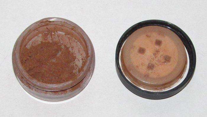 Bare Escentuals - Amber 1/4 tsp Eye Color Sample w/Original Jar - Bare Minerals