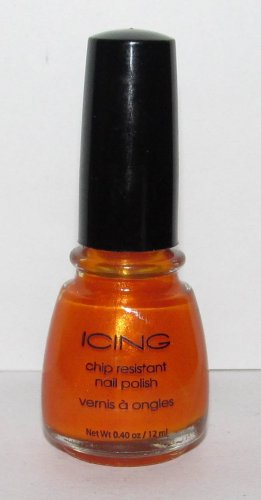 Icing Nail Polish - NEW - Gorgeous Orange color!