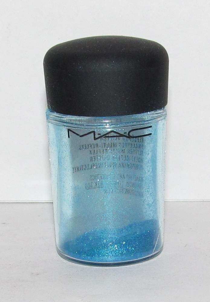 MAC - Reflects Turquatic 1/4 tsp Glitter Brilliant  Sample w/Original Jar