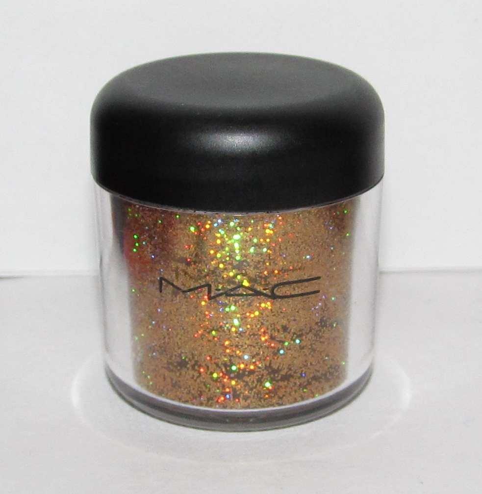 MAC - LUSTDUST 1/4 tsp Pigment Sample w/Original Jar RARE! HTF!