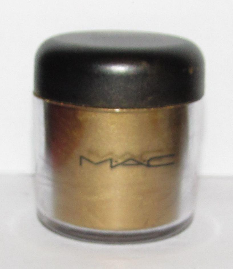 MAC - Gold (Metal) Pigment Sample w/Original Jar - HTF! RARE!