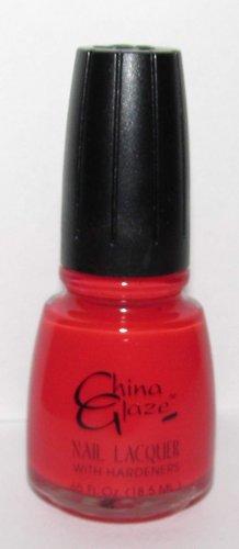 China Glaze Nail Polish - Italian Red #69- NEW