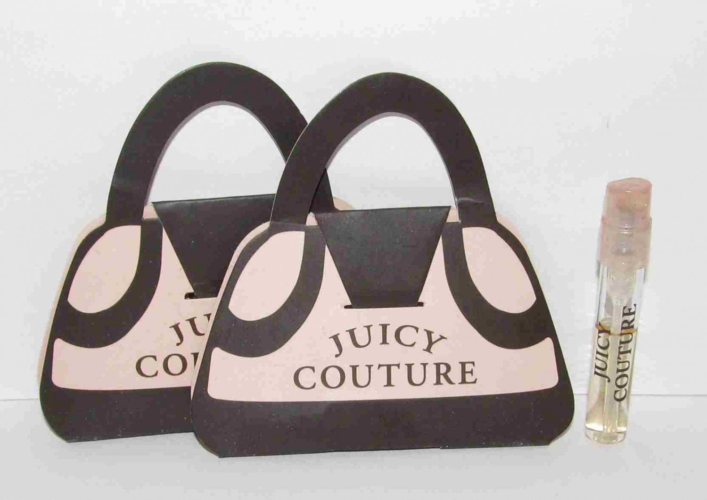 3 Juicy Couture Sample Spray Vial Lot