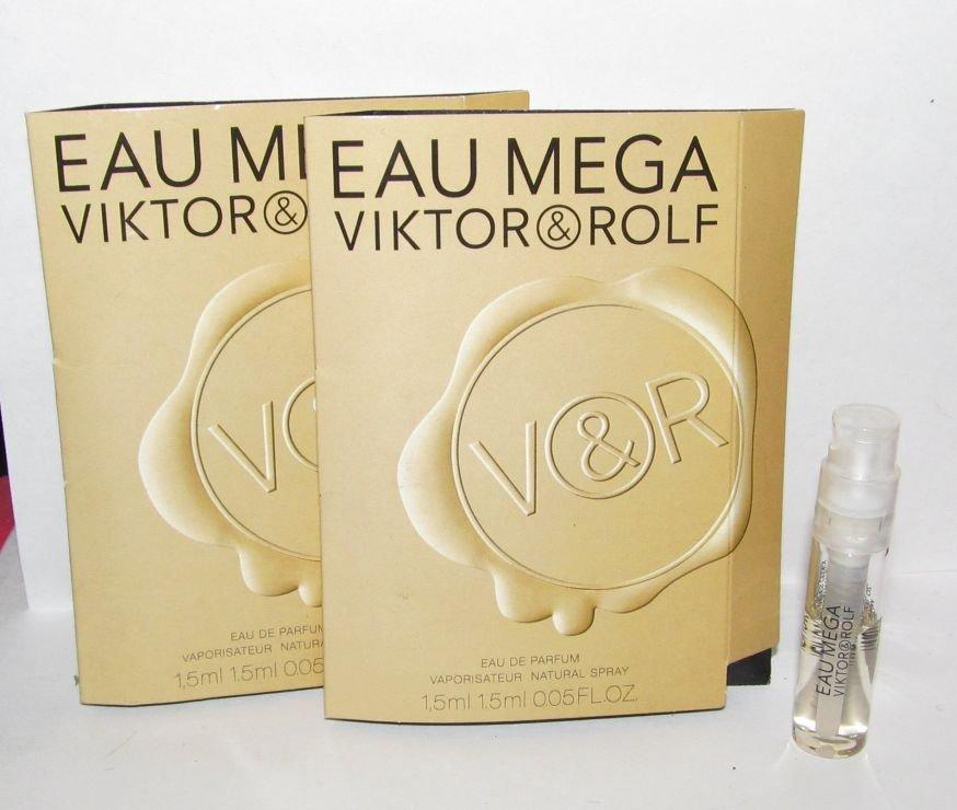 3 Viktor & Rolf Eau Mega Eau de Parfum Sample Spray Vial Lot