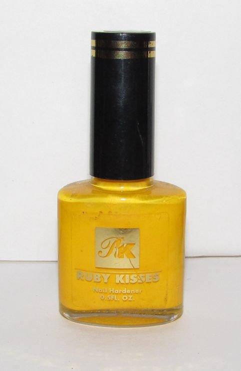 Ruby Kisses Nail Polish - Royal Yellow 62