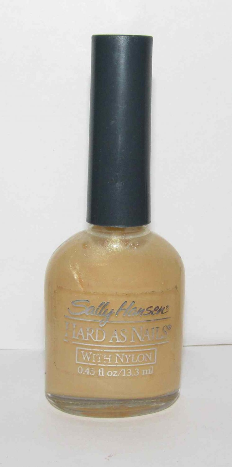 Sally Hansen Nail Polish - Hard as Nails - Golden Ginger Frost