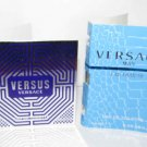 2 Versace Versus / Eau Fraiche Spray Vial Lot