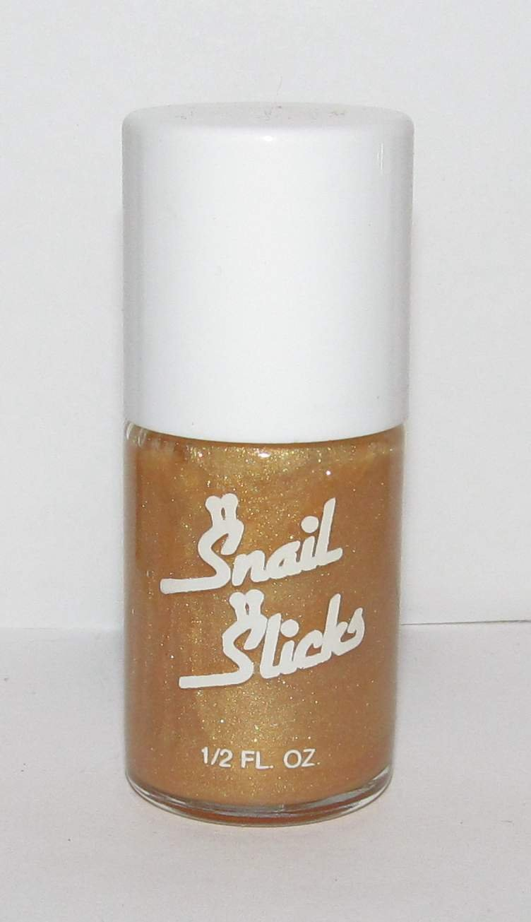 Snail Slicks Nail Polish - Beige/Tan Color with Glitter