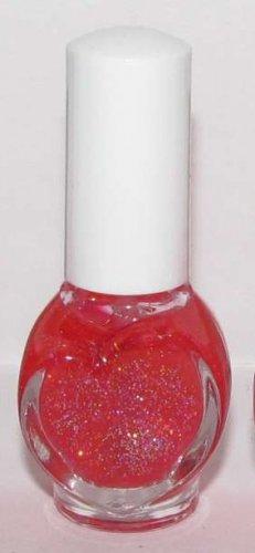 Hanagoyomi Nail Polish - Pink with Holographic Glitter