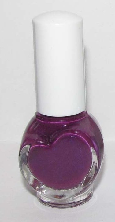 Hanagoyomi Nail Polish - Purple with some Shimmer