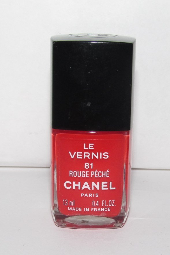 CHANEL - Rouge Peche Nail Polish NEW - HTF - RARE