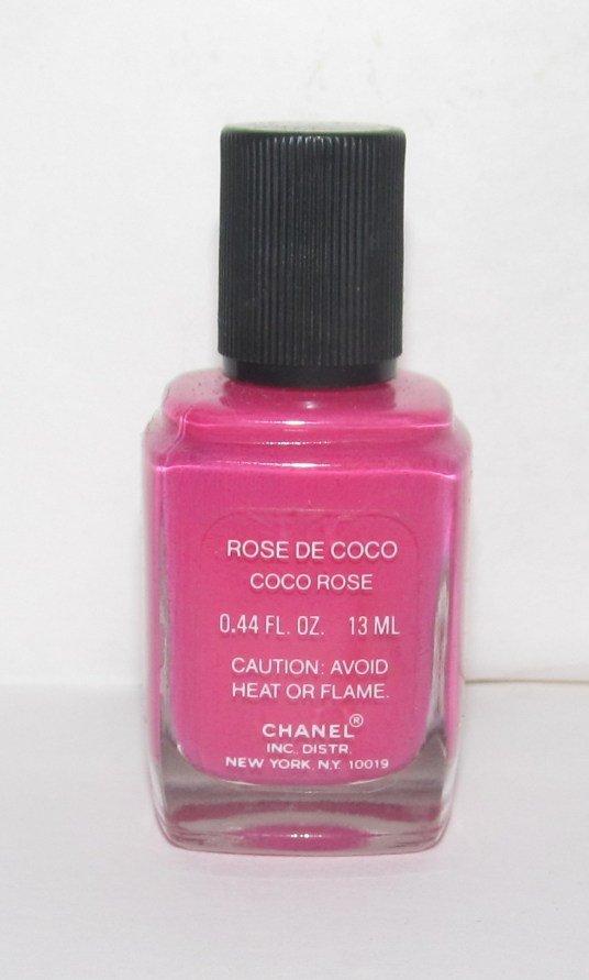 CHANEL Nail Polish - Rose De Coco (Coco Rose) VHTF - RARE NEW