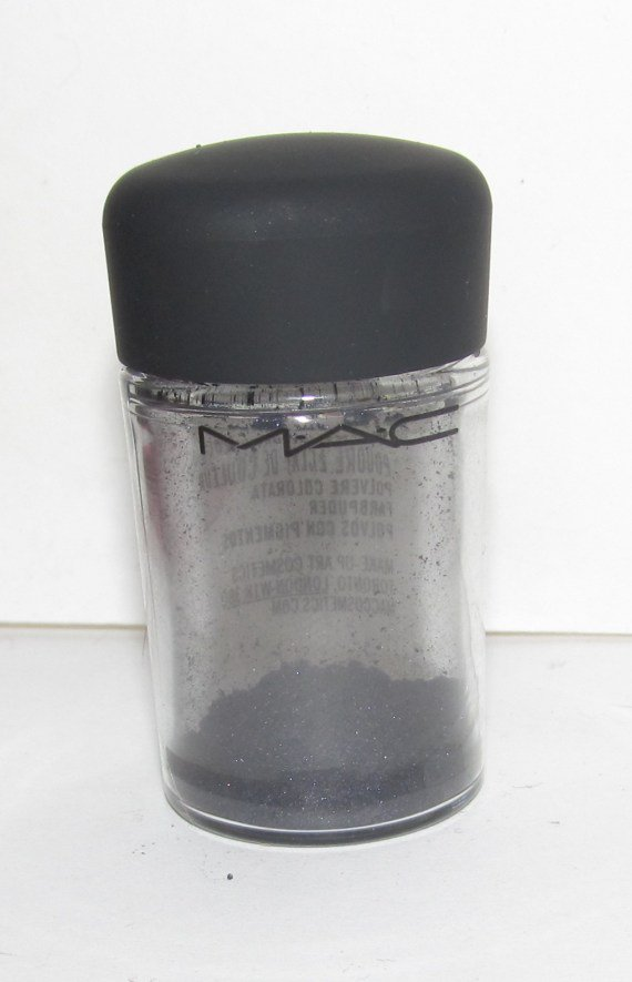 MAC - Starless Night 1/4 tsp Pigment Sample w/Original Jar
