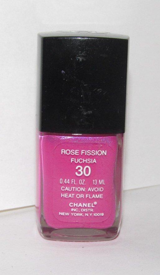 CHANEL Nail Polish - Rose Fission (Fuchsia) RARE - HTF