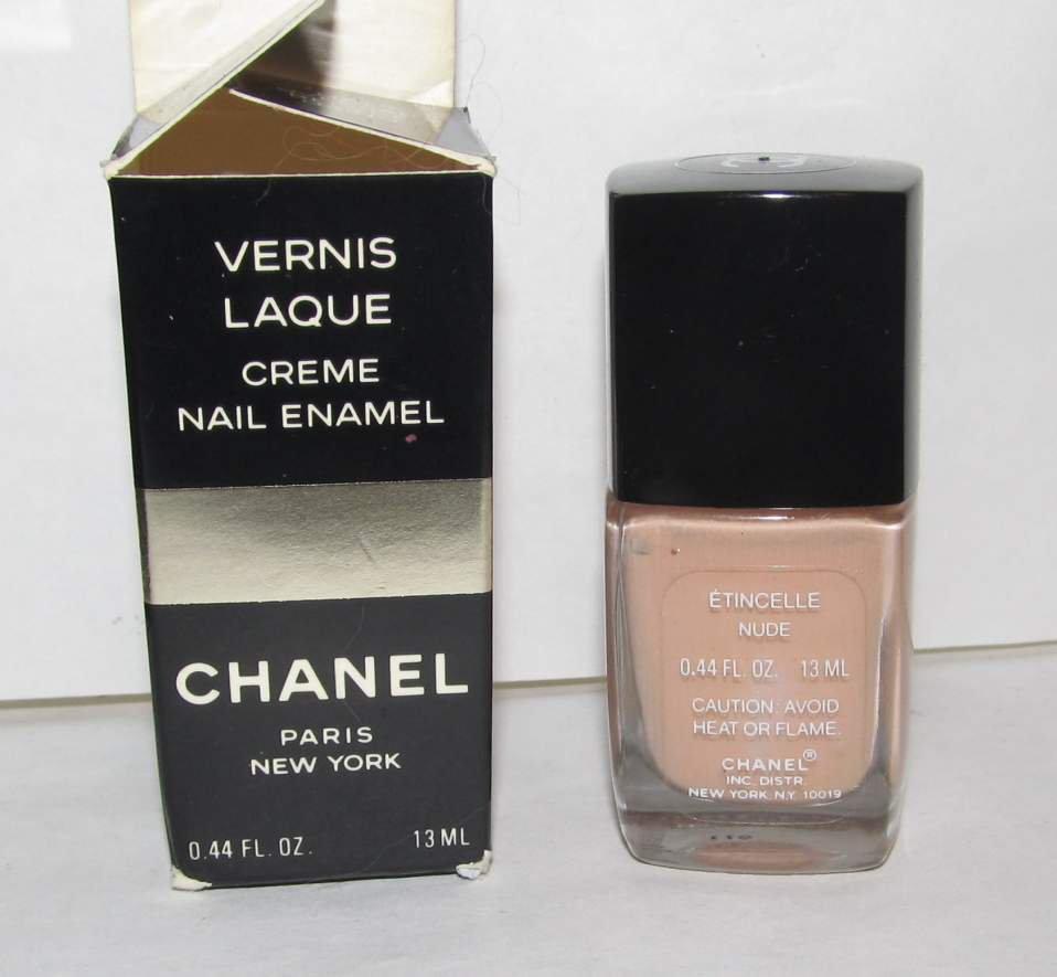 CHANEL Nail Polish - Etincelle (Nude) RARE HTF