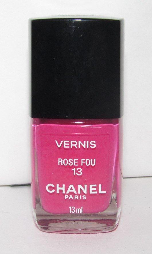 CHANEL Nail Polish - Rose Fou - VHTF RARE NEW