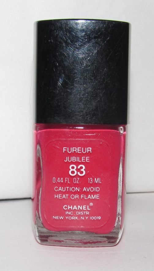 CHANEL Nail Polish - Fureur 83 (Jubilee) - HTF - RARE! NEW