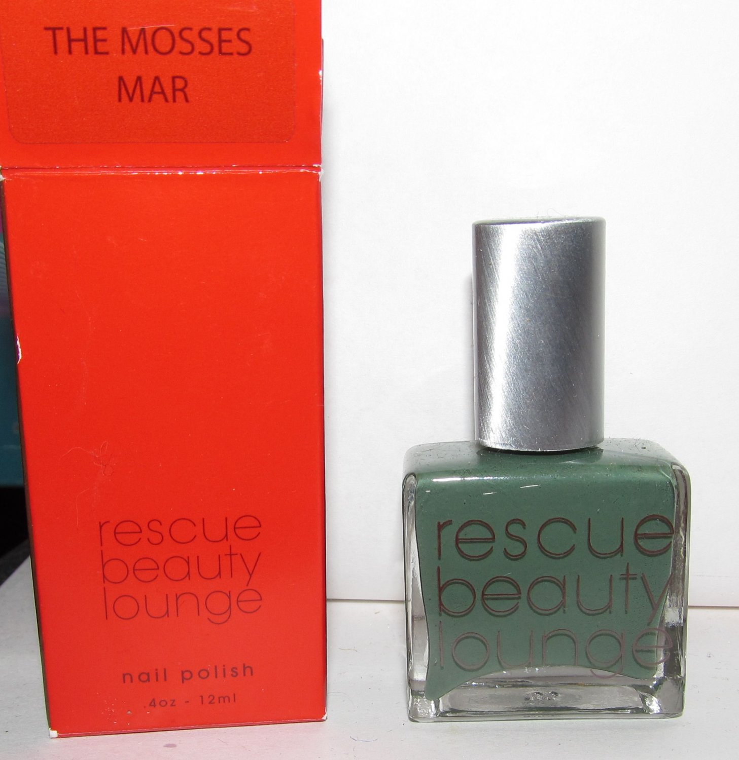 Rescue Beauty Lounge Nail Polish - The Mosses Mar - NIB