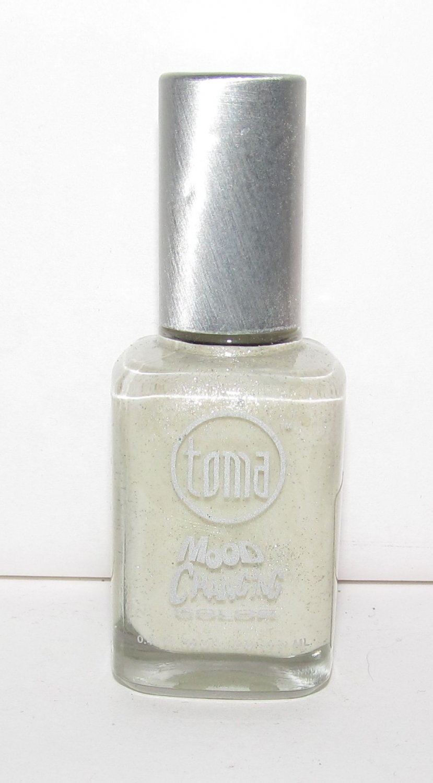 Toma Mood Changing Nail Polish - Sky Blue to Silver MC-21 NEW