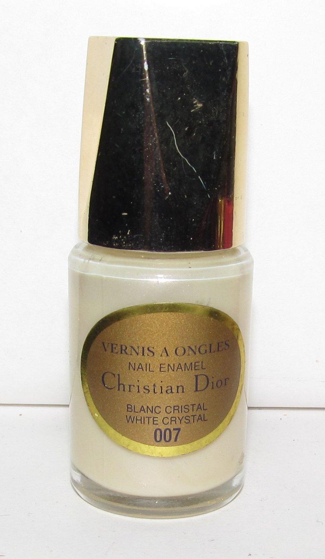 Dior Nail Polish - White Crystal 007 - NEW