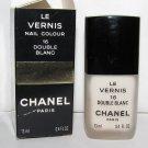 CHANEL - Double Blanc Nail Polish NIB - HTF - RARE