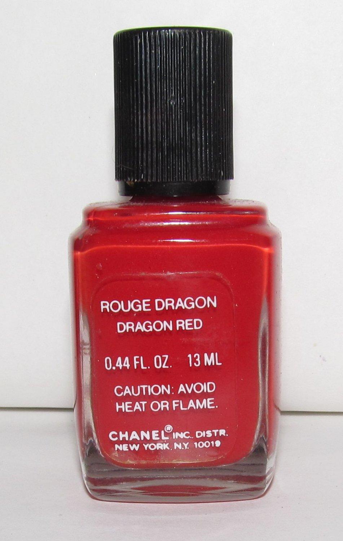 CHANEL Nail Polish - Rouge Dragon (Dragon Red) - NEW - RARE! VHTF