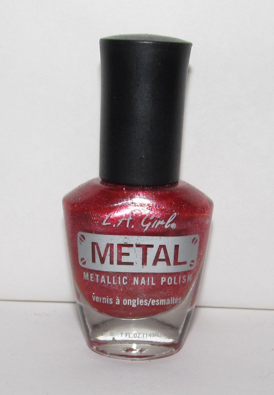 LA Girl Nail Polish - Iron Red NEW