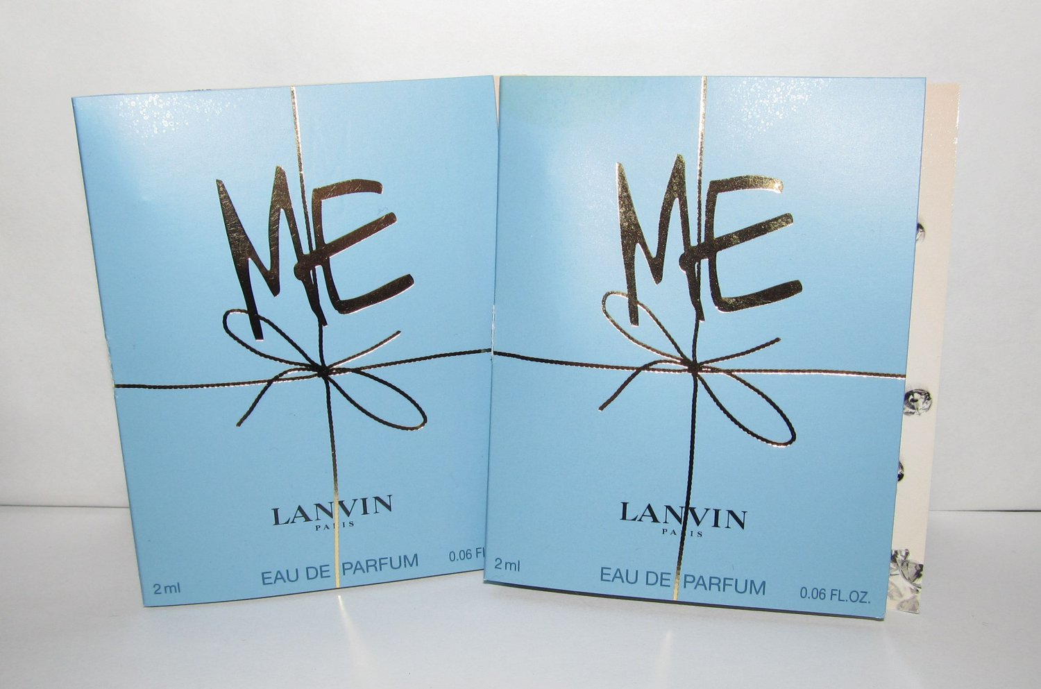 2 Lanvin Me Eau de Parfum Sample Spray Vial Lot