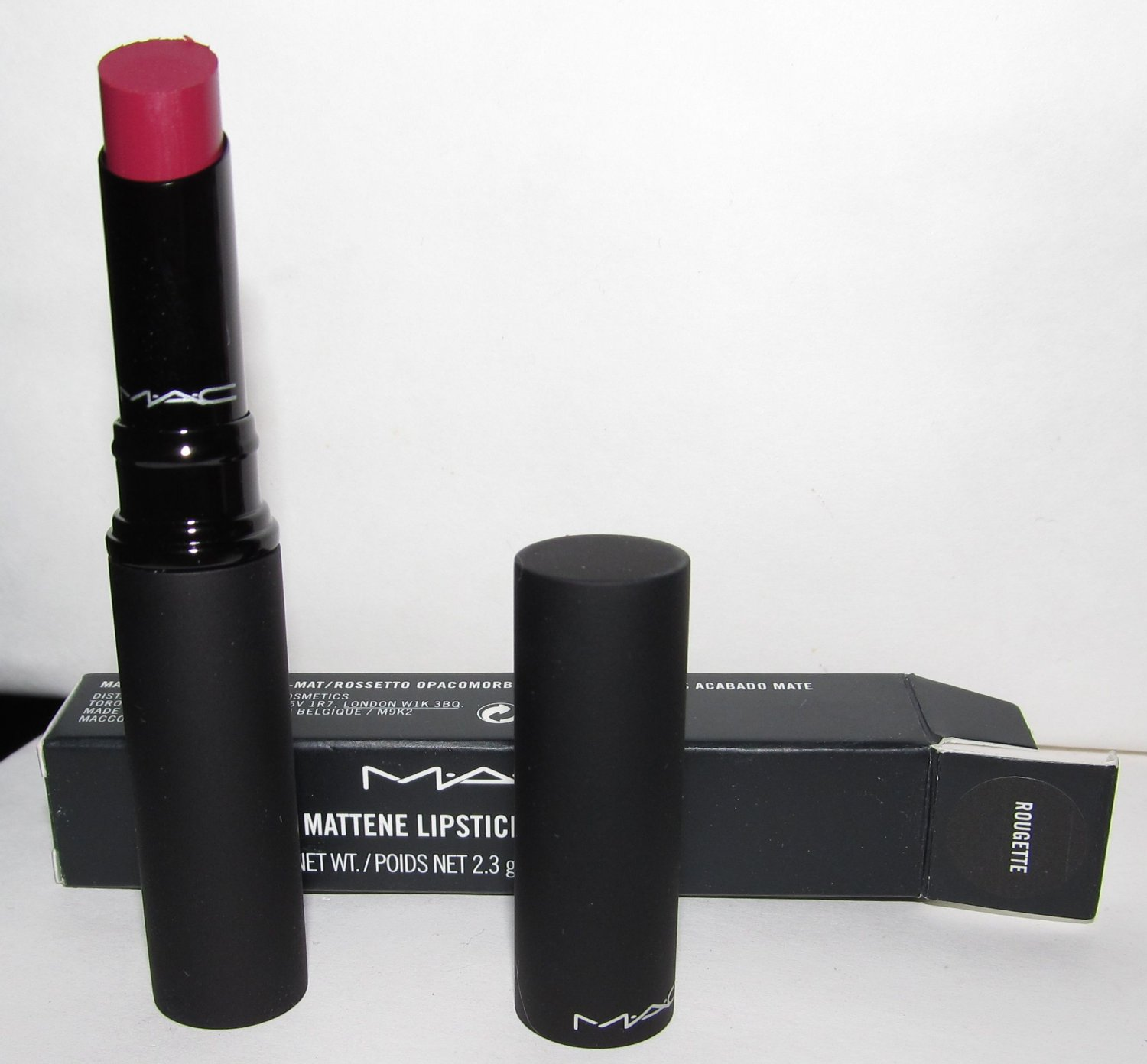MAC Mattene Lipstick - Rougette - NEW in BOX