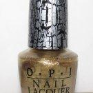 OPI Nail Polish - Gold Shatter NL E60 - NEW