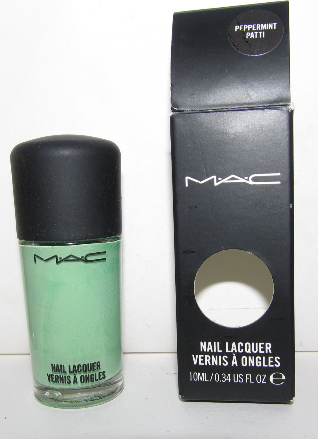 MAC - Peppermint Patti Nail Polish - NIB