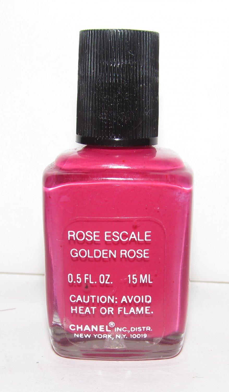 CHANEL Nail Polish - Rose Escale (Golden Rose) VHTF - RARE NEW