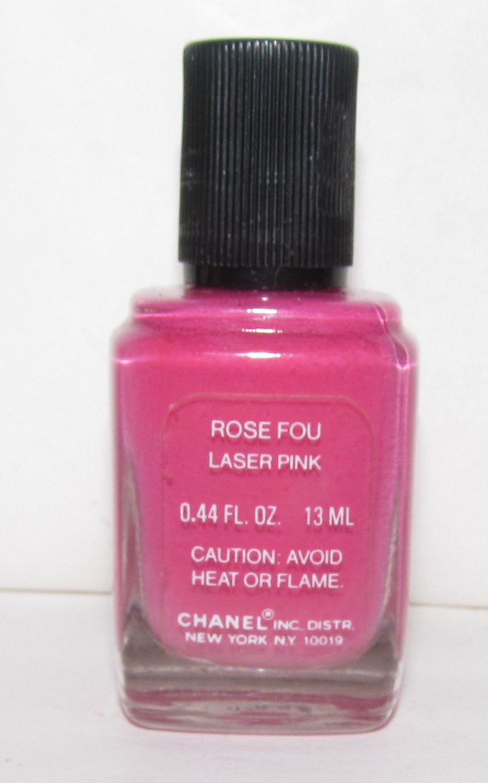 CHANEL Nail Polish - Rose Fou (Laser Pink) - NEW
