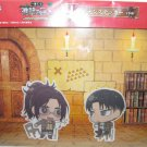 Attack on Titan - Banpresto Stickers - Levi and Hange - NEW