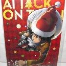 Attack on Titan - Levi Christmas Promotional Postcard - NEW