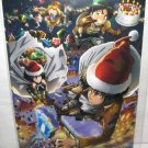 Attack on Titan - Levi, Eren, Mikasa and Armin Christmas Promotional Postcard - NEW