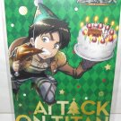Attack on Titan - Eren Christmas Promotional Postcard - NEW