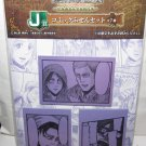 Attack on Titan - Sticky Notes, Eren, Levi, Erwin and Hange - NEW