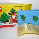 LEGO - 853353 Holiday Christmas Scene Magnet, includes Santa Claus minifigure