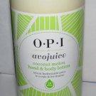 OPI avojuice - coconut melon - Hand & Body Lotion - NEW