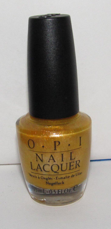 OPI Nail Polish - 18k Ginza Gold NL J08 - NEW