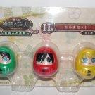 Attack on Titan - Daruma Set - Eren, Mikasa & Armin - NEW
