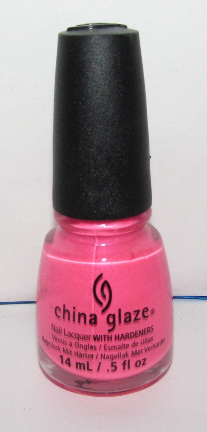 China Glaze Nail Polish - Hang-Ten Toes - NEW